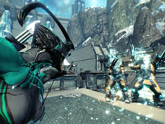 Warframe for PC, PS4 and Xbox One.