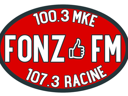 Logo for FONZ FM.