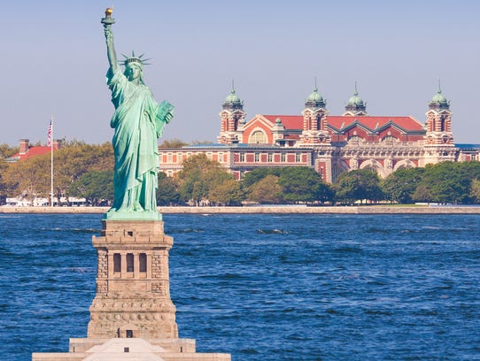 The Statue of Liberty and Ellis Island — New York City
