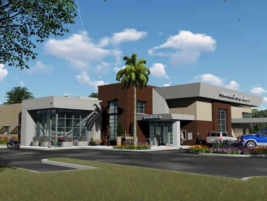 This is what the old Kragen Auto building will look