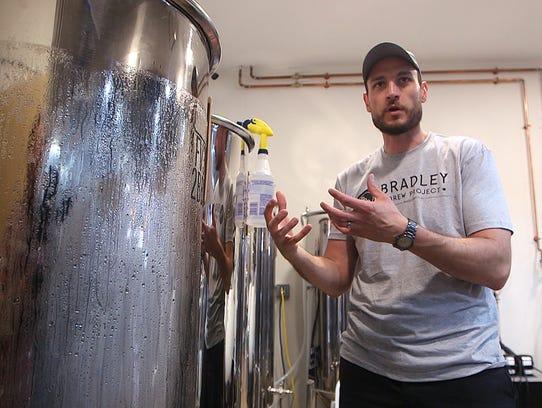 Bradley Brew Project owner Mike Ziolkowski explains