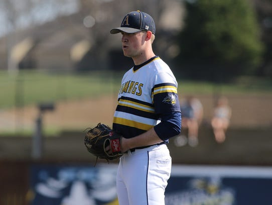 Jacob Blank is 18-0 in the last two seasons for Augustana