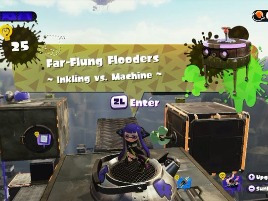 Splatoon Octo Valley Stage 25 Tips To Finish Onslaught Mode