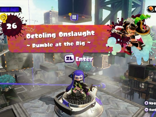 Splatoon Octo Valley Stage 26 Tips To Finish Onslaught Mode
