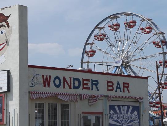 The Wonder Bar, just off the Asbury Park boardwalk,