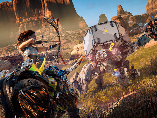 A scene from 'Horizon Zero Dawn.'