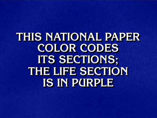 'Jeopardy!' clue features USA TODAY