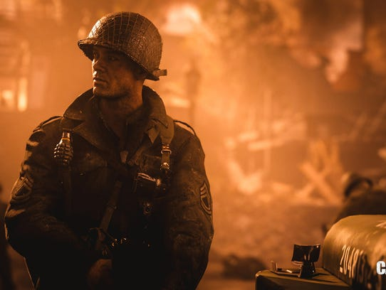 Activision's white-knuckle Call of Duty action game