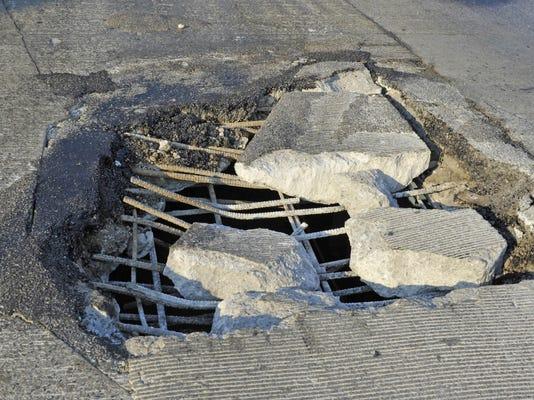 Pothole Problems