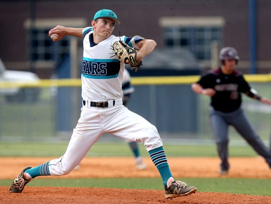 Siegel's Jacob Key was 10-1 with a save. He struck