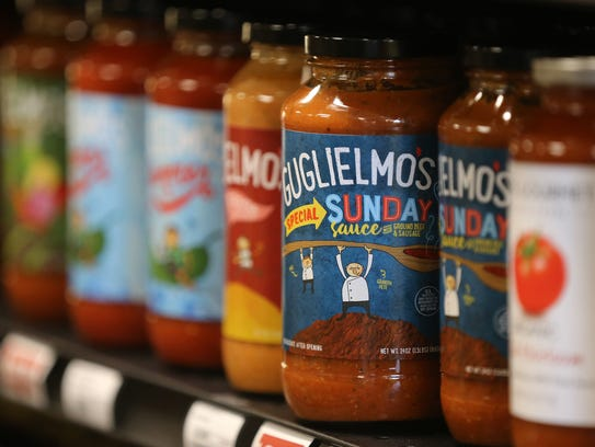 One of Paul Guglielmo's fun sauces is his Sunday Sauce.