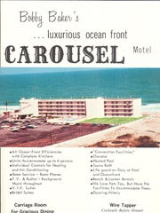 This advertisement, of unknown date, shows the Carousel Hotel in Ocean City.
