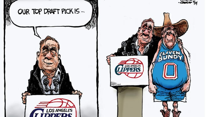 Steve Benson takes a look at Donald Sterling's recent comments on race.