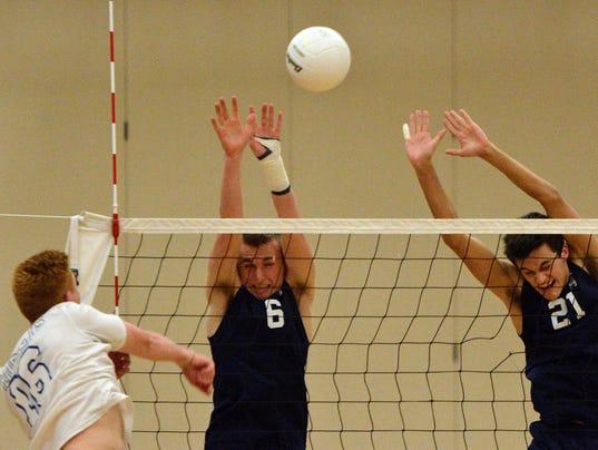 Dallastown vs Spring Grove boys' volleyball