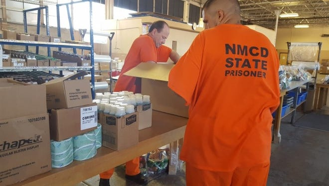 Inmates at the Penitentiary of New Mexico have been filling care packages for displaced families of the Dog Head Wildfire in Bernalillo  County, NM.