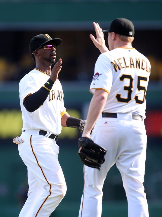 MLB: Game One-Chicago Cubs at Pittsburgh Pirates