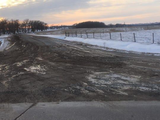 Iowa County's secondary roads department has been dealing