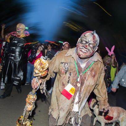 55 freaky zombies from Downtown Phoenix Zombie Walk
