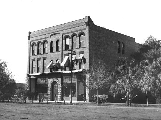 The second-floor ballroom of the 1899 Tempe Hardware