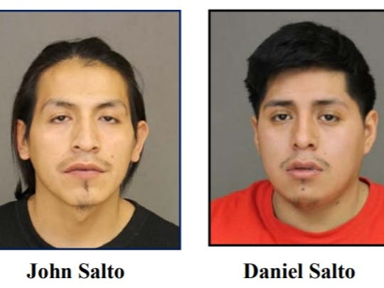 Spring Valley cousins John and Daniel Salto are accused of nearly stabbing a man to death during a fight in Haverstraw.