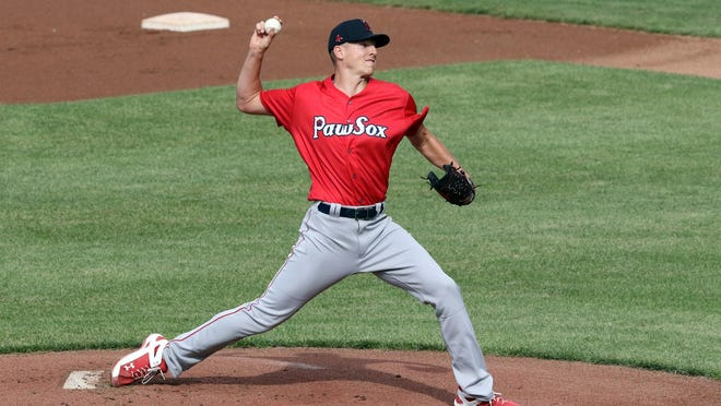 Nick Pivetta worked at the alternate site before being recalled to Fenway Park on Tuesday.