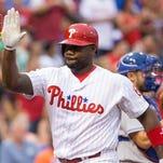 Philadelphia Phillies first baseman Ryan Howard (6)