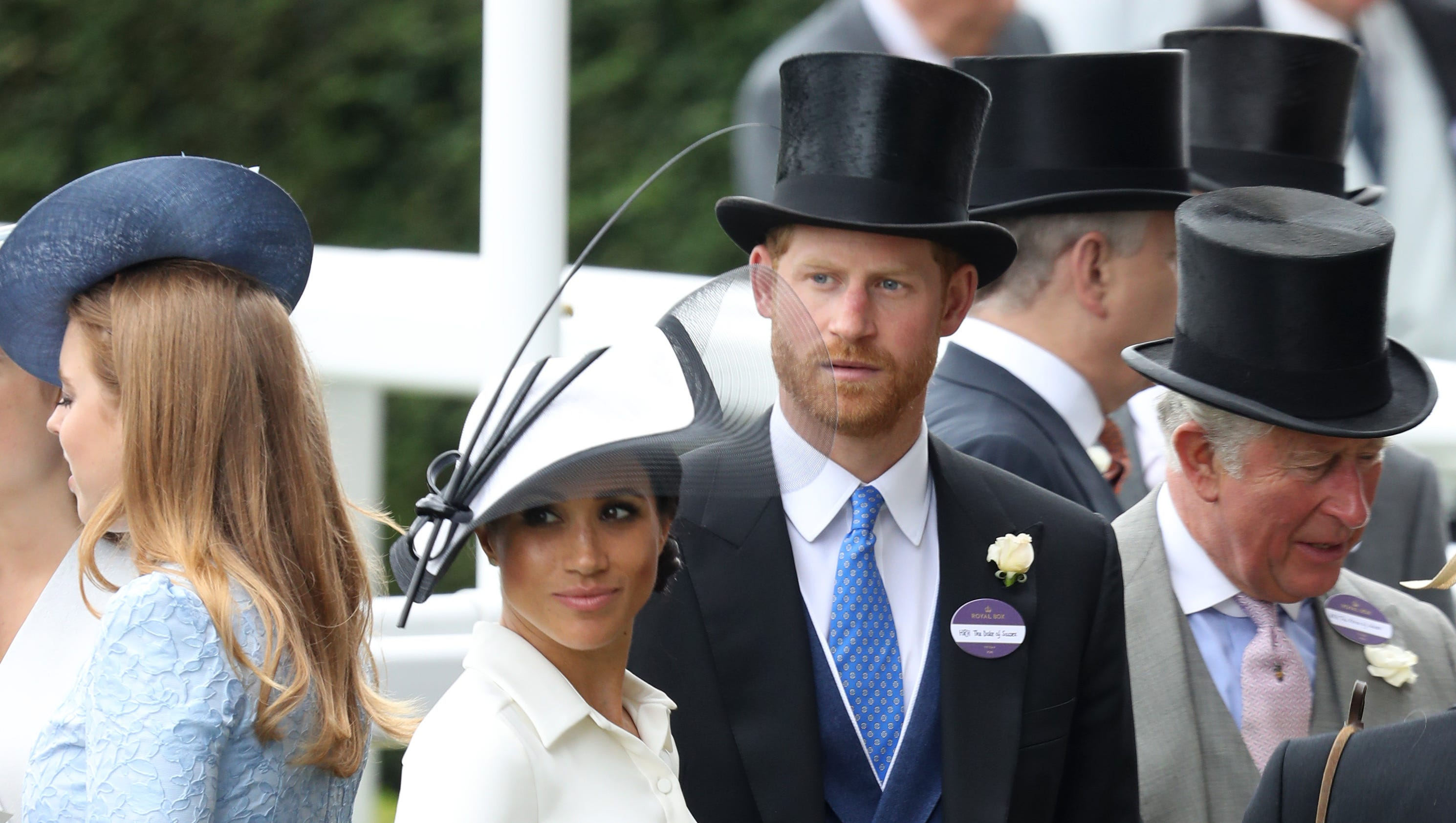 Duchess Meghan makes Royal Ascot debut in white dress from go-to label Givenchy