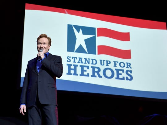 Conan O'Brien at Stand Up for Heroes
