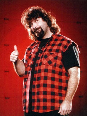 Former professional wrestler Mick Foley stops by Levity Live on March 15 for a night of comedy and storytelling.
