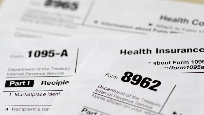 Health care tax forms 8962, 1095-A and 8965. Being uninsured in America will cost you more in 2015.
