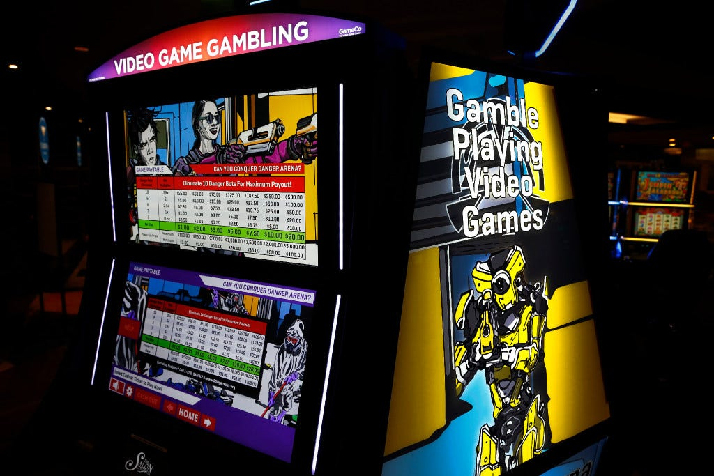 Gambling on video games wildfire casino
