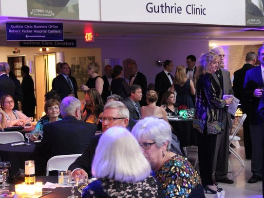 The Guthrie Gala was held Saturday night in the Guthrie