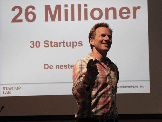 Rolf Assev of Startup Lab Oslo