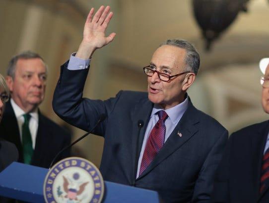 Democratic Sen. Charles Schumber of New York