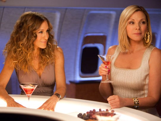 Sarah Jessica Park plays Carrie Bradshaw and Kim Cattrall