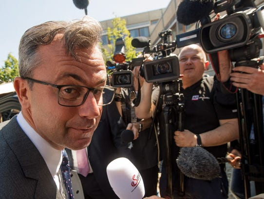 Right-wing Austrian Freedom Party  presidential candidate