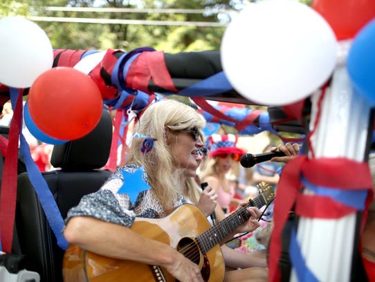 Scenes from the Montreat Fourth of July parade, held