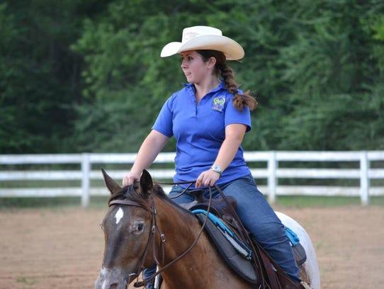 Taylor Serafin, Stewart County Riding Club vice president
