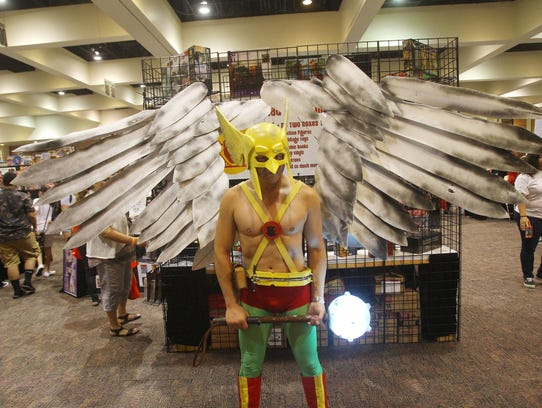 Comic Con Palm Springs continued on Saturday as the