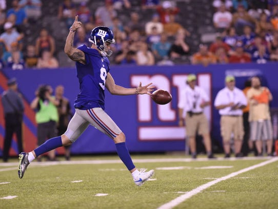 Giants punter Brad Wing is the NFC's Special Teams