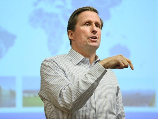 Tom Werner, CEO of SunPower, recently returned to speak