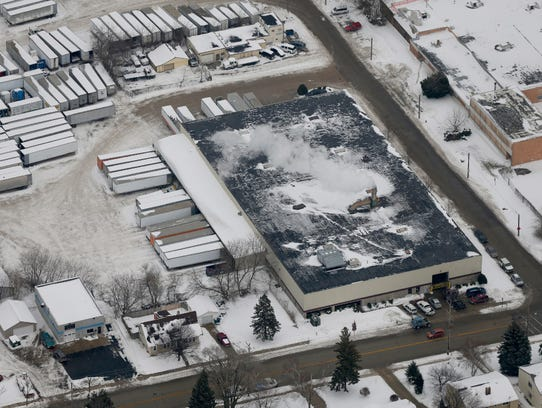 The Mid-America Steel Drum plant in St. Francis has