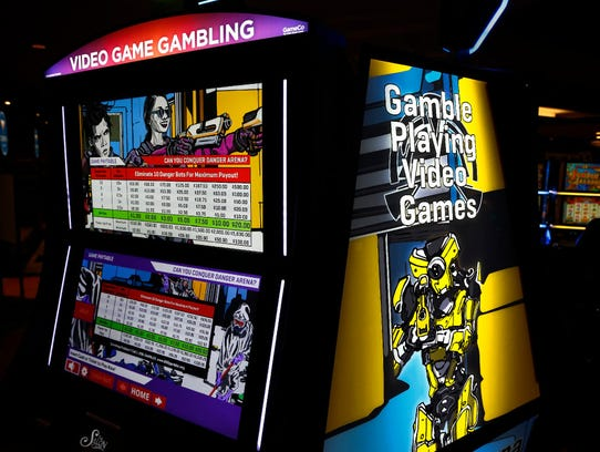 These video game gambling machines - such as Danger