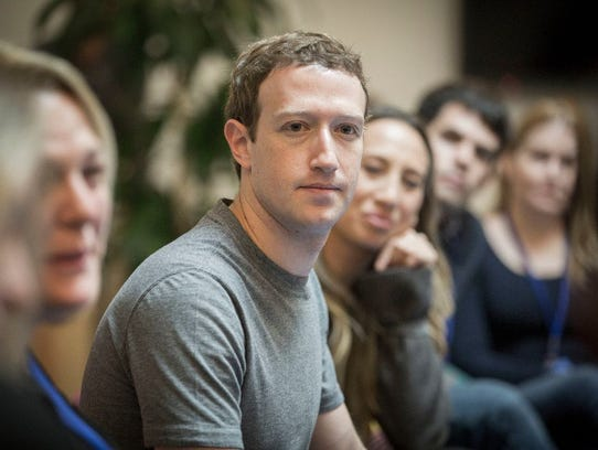 """Facebook CEO Mark Zuckerberg sayshe's committed to stopping foreign efforts to influence U.S.political debate. """"We are willing to do whatever we need to do to work on it and solve it,"""" the Facebook CEO told USA TODAY in November."""