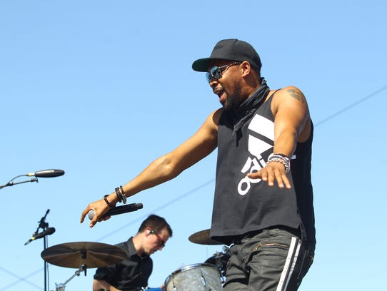 Ex-member of Wu-Tang RZA performs with is new band