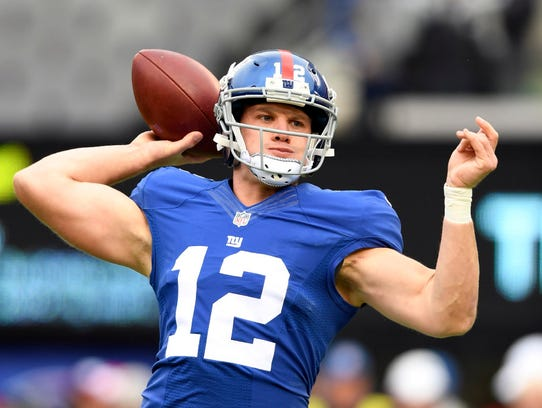 Quarterback Ryan Nassib is one of three at the position