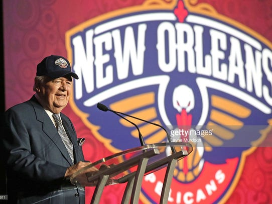 New Orleans Pelicans and Saints owner Tom Benson will