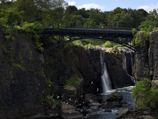 The Great Falls in Paterson, one of our area's natural
