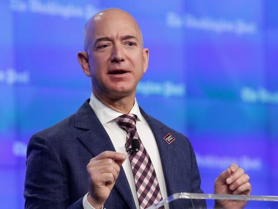 Amazon CEO Jeff Bezos solicited ideas for philanthropic