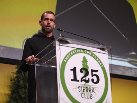 """Twitter CEO Jack Dorsey said last year: """"We are not"""